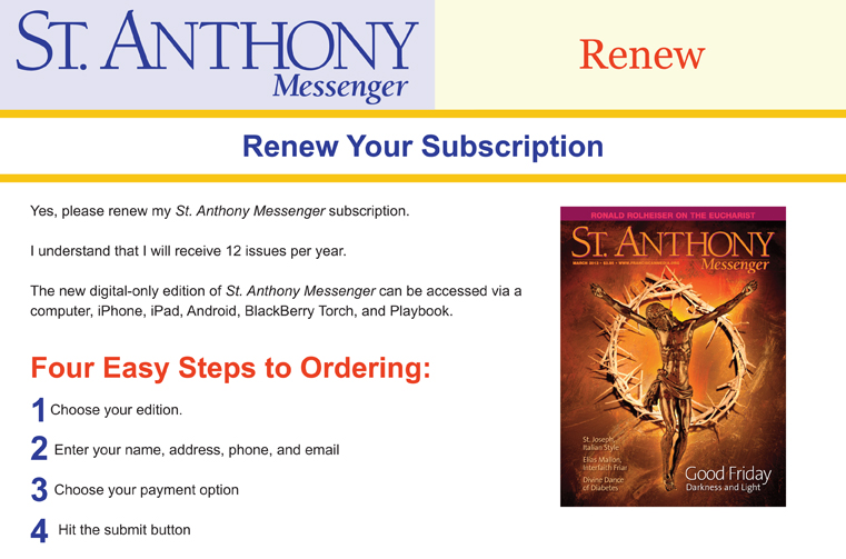 St. Anthony's Messenger